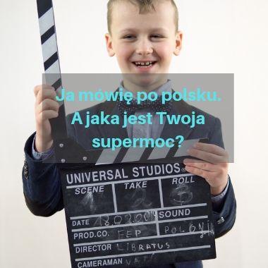 Ja mówię po polsku. A jaka jest Twoja supermoc?